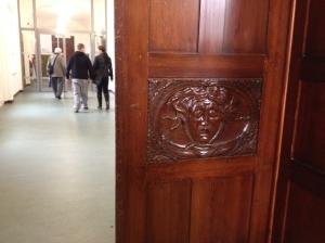 Detail an der Tür zum Ratssaal.